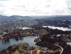 Embalse Guatape, Antioquia
