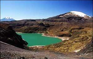 Laguna Verde - Parque Nacional Nevado